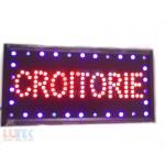 Reclama luminoasa Led Croitorie cu animatie (RE-LED-CRO) - www.lutek.ro