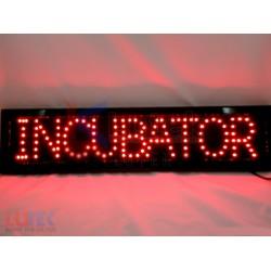 """Reclama luminoasa Led """"Incubator"""""""
