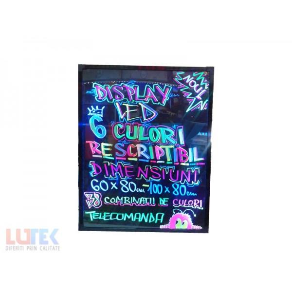 Reclama luminoasa led rescriptibila 100x80 (LTK-RSCM) - www.lutek.ro