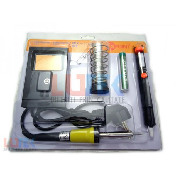 Set ciocan de lipit 30W (LTK-004) - www.lutek.ro