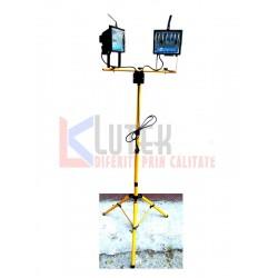 Stand lumini 2 proiectoare 500W