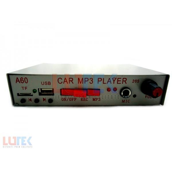 Statie Portavoce auto cu mp3 player A60 (A60) - www.lutek.ro