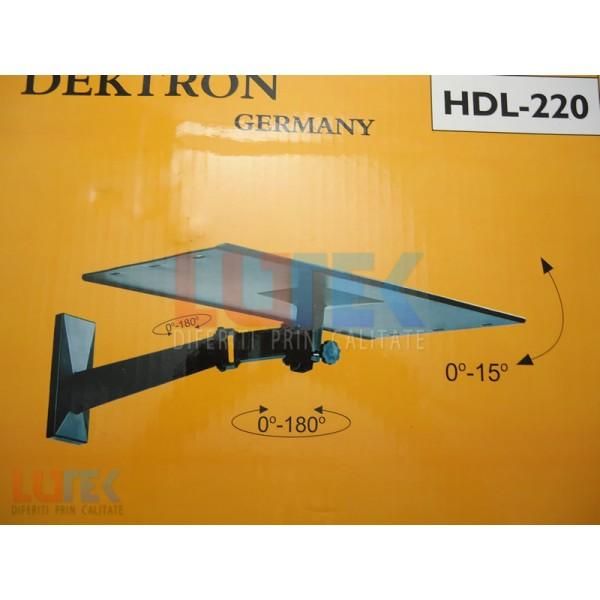 Suport TV CRT cu brat articulat HDL 220 (HDL-220) - www.lutek.ro